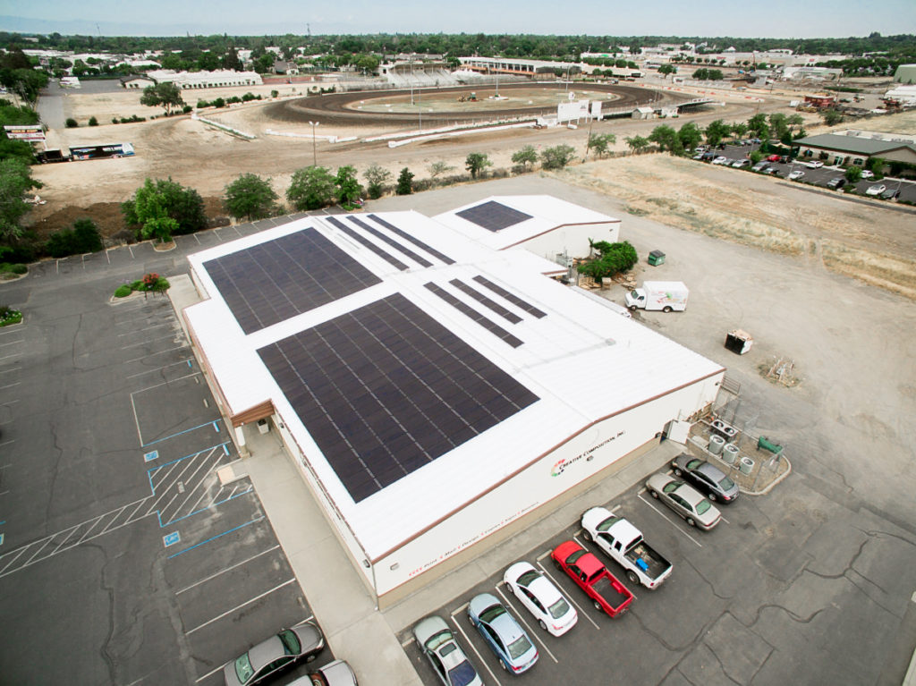 creative composition roof mount commercial solar panel installation