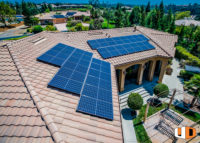 evans roof mount residential solar panel installation pace financing for families