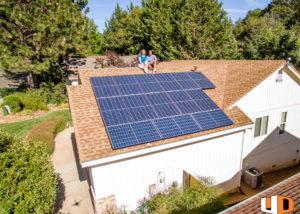 ewald roof mount residential solar panel installation