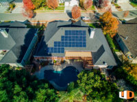 McClean roof mount residential solar panel installation