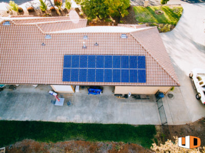 molin roof mount residential solar panel installation