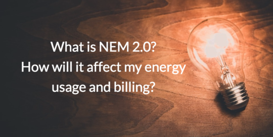 What is NEM 2.0?
