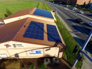 skyway tools roof mount commercial solar panel installation