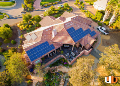 smead roof mount residential solar panel installation