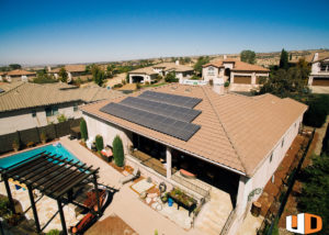 sorensen roof mount residential solar panel installation