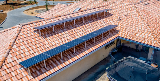 Photo of Tautoo residential solar installation