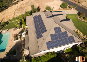 victorine roof mount residential solar panel installation