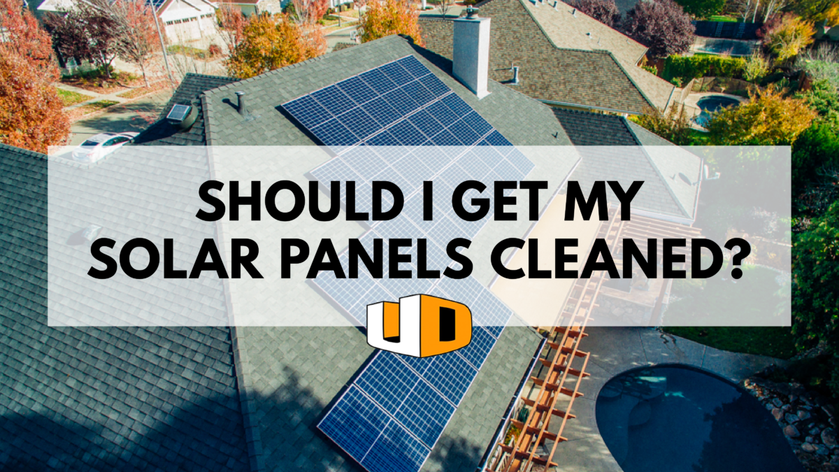 Do i need to wash my solar panels?