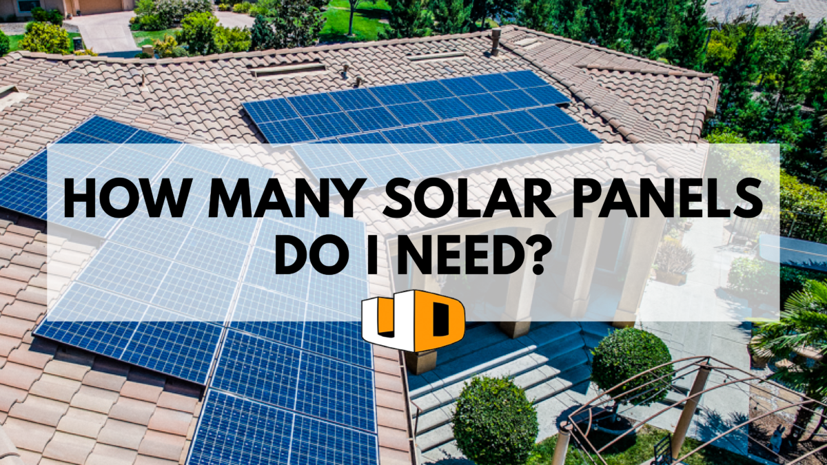 how many solar panels do i need